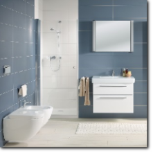 all in one badkamer van Villeroy & Boch
