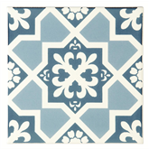 Original Style Liberte Blue Sea, Sky Blue on Brilliant White